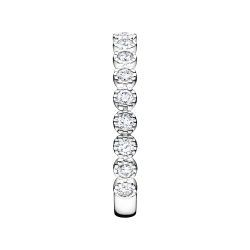Alliance Lepage Capucine en or blanc et diamants