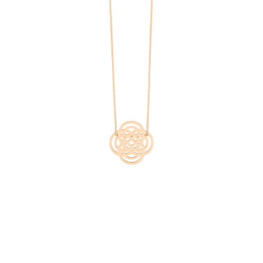 Collier Ginette NY Mini Purity On Chain en or rose