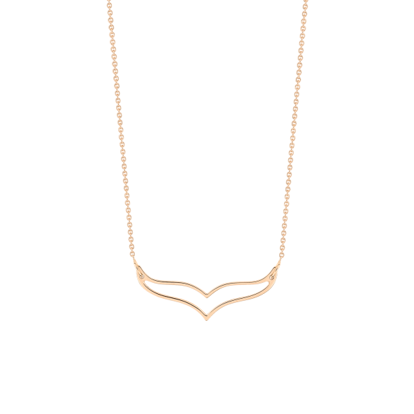 Collier Ginette NY Mini Wise en or rose