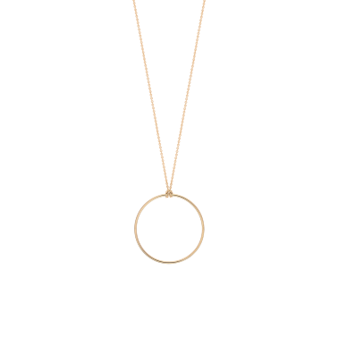 Collier Ginette NY Baby Circle en or rose