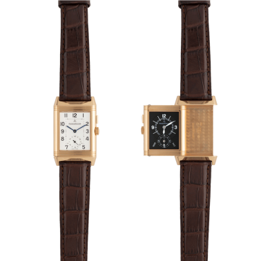 Jaeger LeCoultre Reverso Duoface or rose