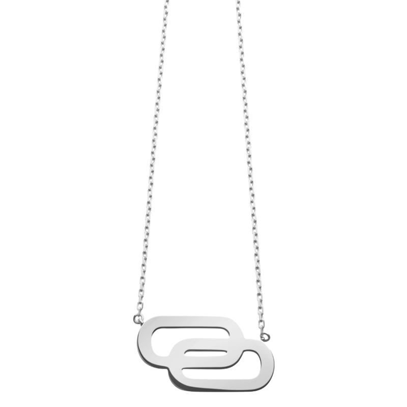 Collier So Shocking Lucky in Love grand modèle en or blanc
