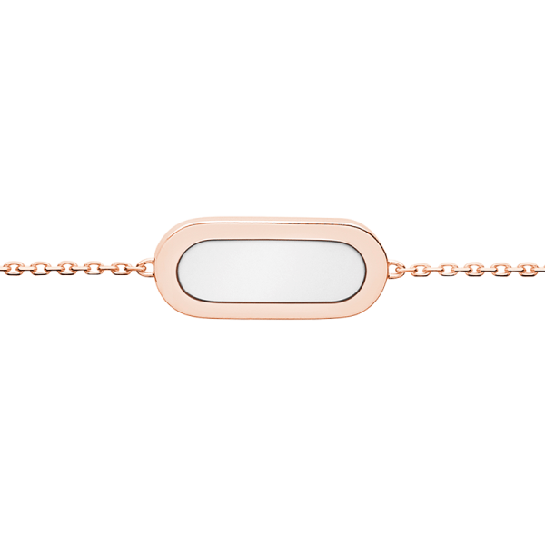 So Shocking Première fois Bracelet pink gold and mother-of-pearl