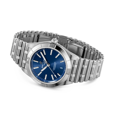 Watch Breitling Chronomat Lady Automatic night blue dial 36 mm