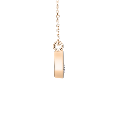 Collier Lepage Clyde en or rose diamant brillant