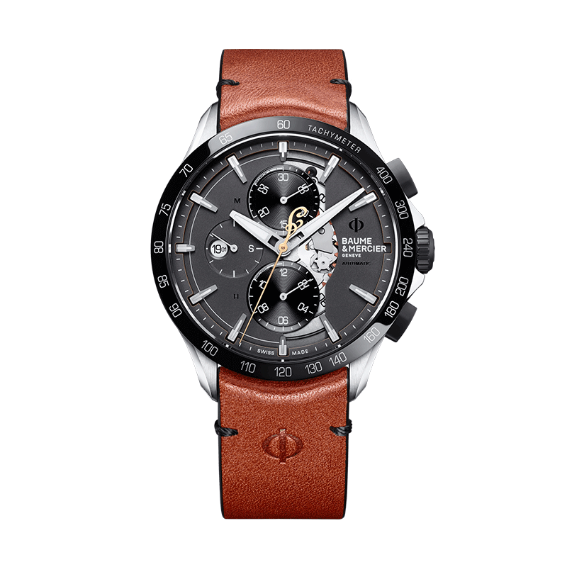 Montre Baume et Mercier Clifton Club Indian Legend Tribute Scout 44 mm